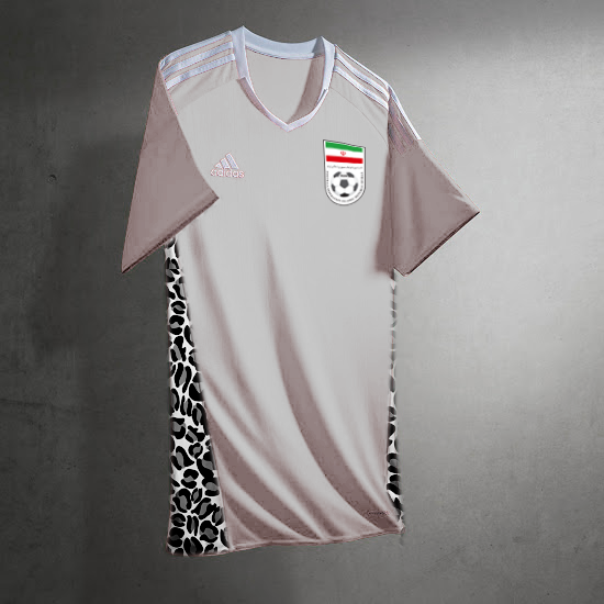 iran football kits away 2017