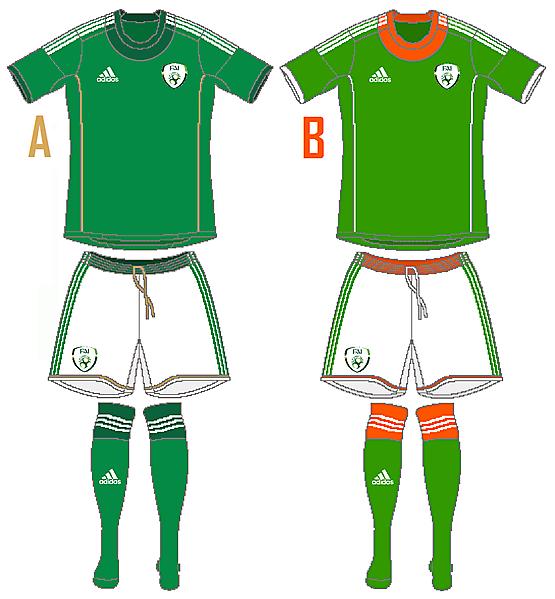 Ireland Adidas Home (Campeon 14 Template)