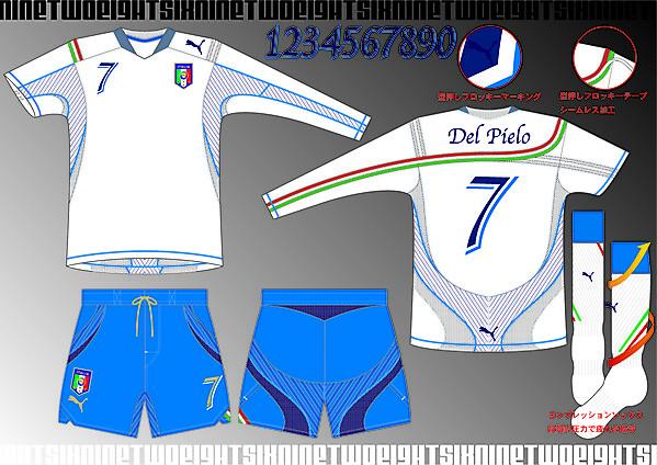 Italia 2010 Away