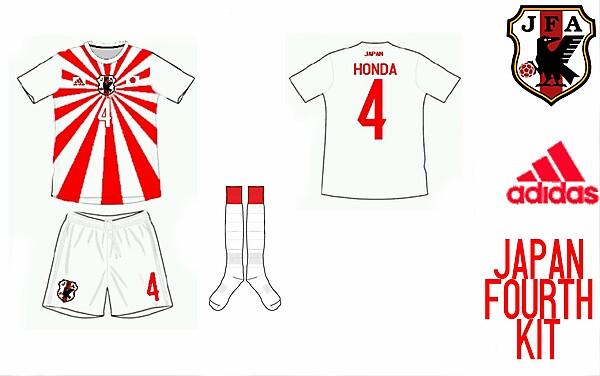 Japan Fourth Kit