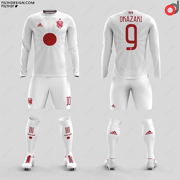 Japan x Adidas | Away Kit