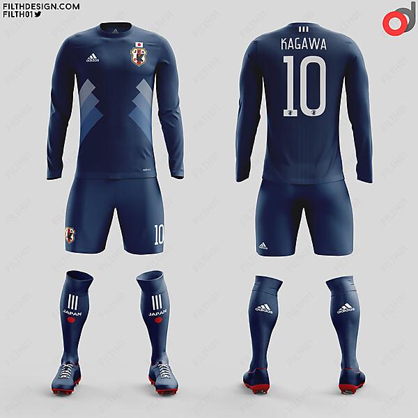 Japan x Adidas | Home Kit
