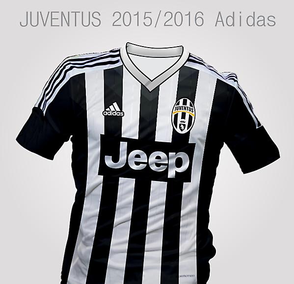 innovative design ea804 aa27e Juventus Adidas, Home Kit 2015/2016
