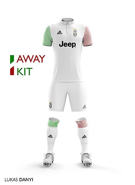 Juventus Away Kit 17/18.