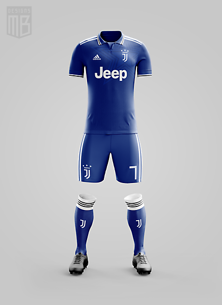 Juventus x Adidas - Away Kit