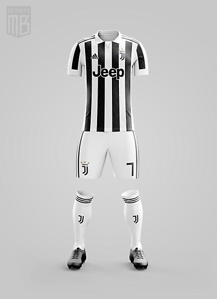 Juventus x Adidas - Home Kit
