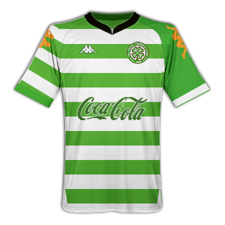 Celtic FC Kappa home shirt
