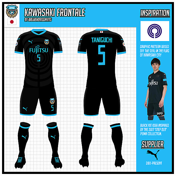 Champions League Asia: Kawasaki Frontale Third Kit (Asian Champions League Version