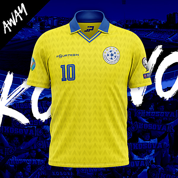 Kosovo Away Concept Kit