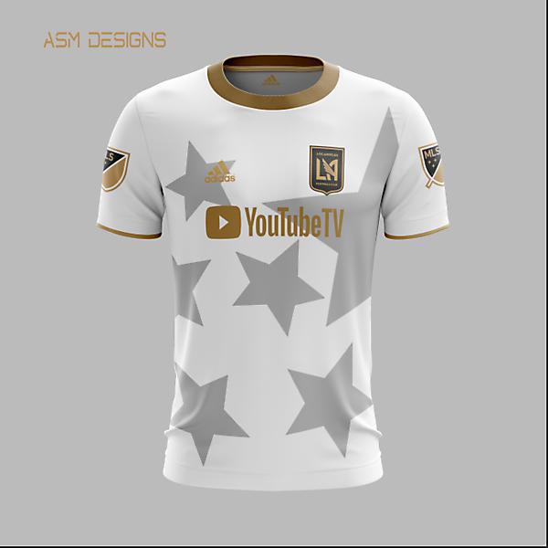 LAFC 2021 Adidas Away Kit