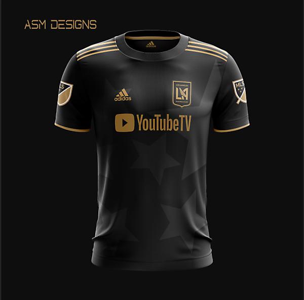 LAFC 2021 Adidas Home Kit