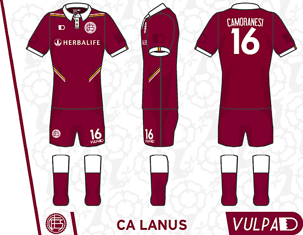 CA Lanús Home Kit