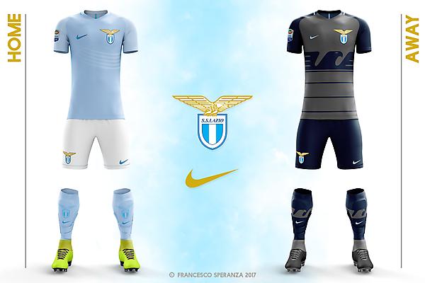 Lazio home & away