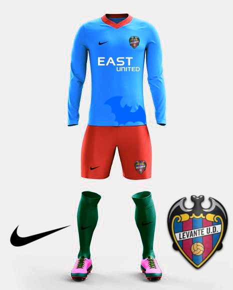 Levante Nike 2017 away kit