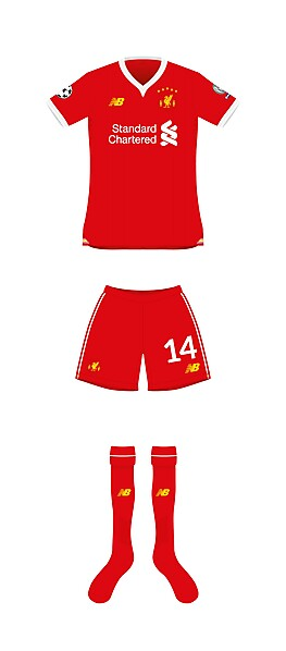 Liverpool Champions League front