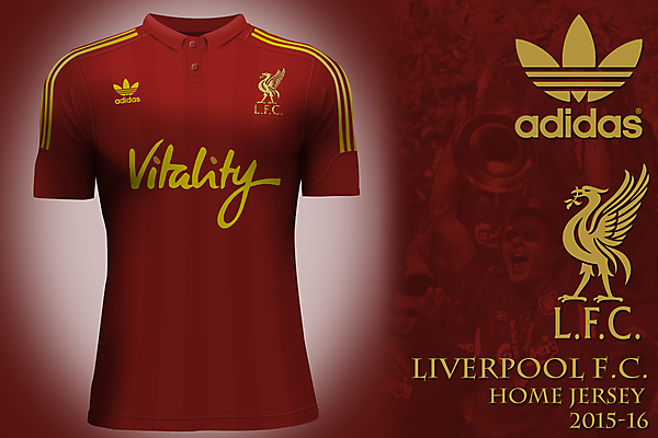 Liverpool FC by adidas - home jersey
