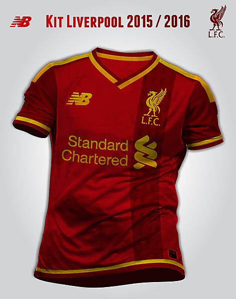 Liverpool kit New Balance 2015/2016