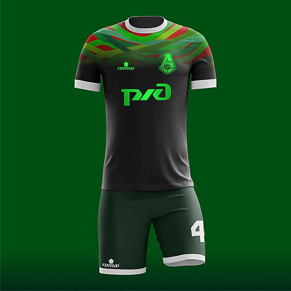 Lokomotiv Moscow Away concept X Romai