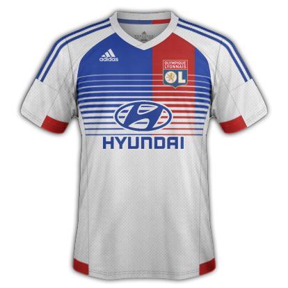 Lyon fantasy Home kit with Adidas