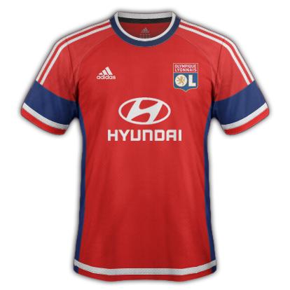 Lyon fantasy Third kit with Adidas