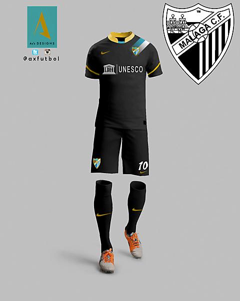 Malaga CF Away nike kit