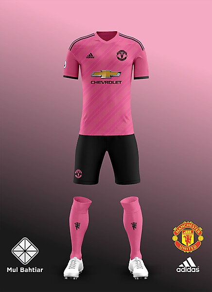 detailed look 4965f 50654 Man United 2018-2019 Away Kit Leaked