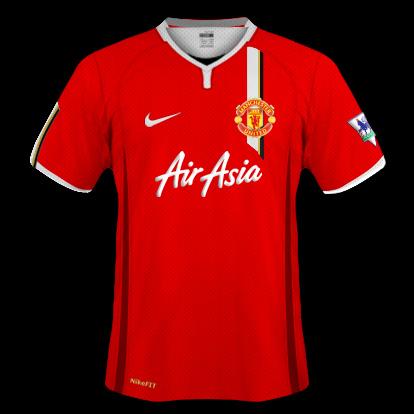 Man Utd 09/10 Home