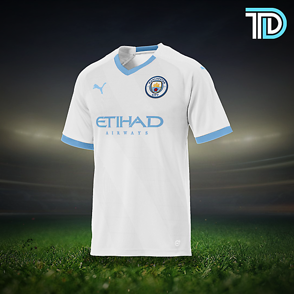 Manchester City Puma Away Concept Kit