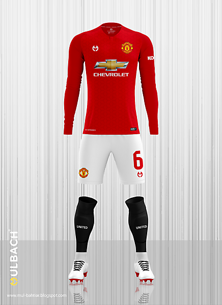 4363b6ed114 Manchester United 2019-2020 Home Kit