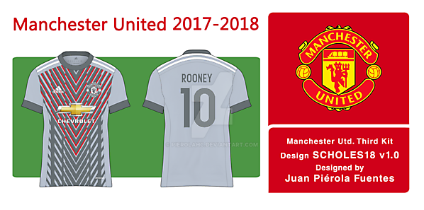 reputable site 6bb99 ad304 Manchester United 3rd Kit 2017-18 - Scholes18 v1.0