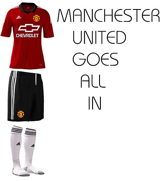 Manchester United Adidas kit