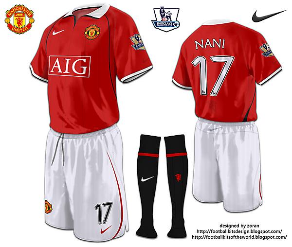 Manchester United fantasy home