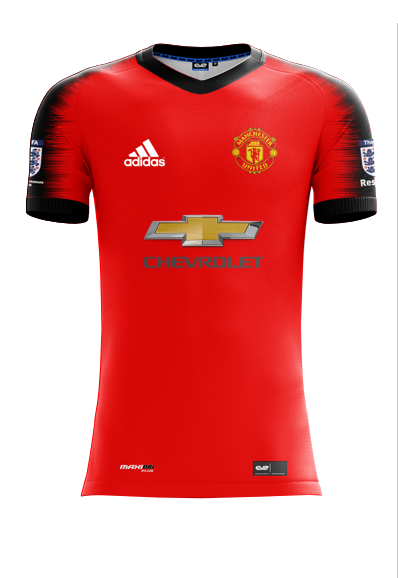Manchester United Home 2020 21