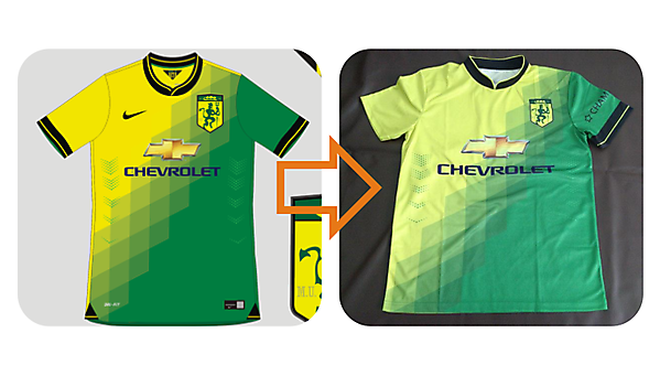 best website 8d3aa 2b454 Manchester United/Newton Heath shirt comes to the real world