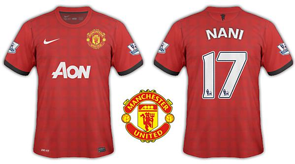 Manchester Utd 12/13 kits