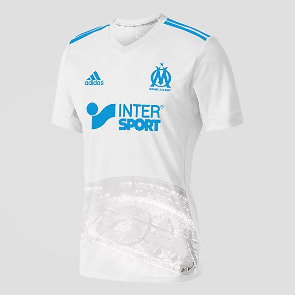new style 99e6b 890b6 Marseille FC Jersey Design 2017