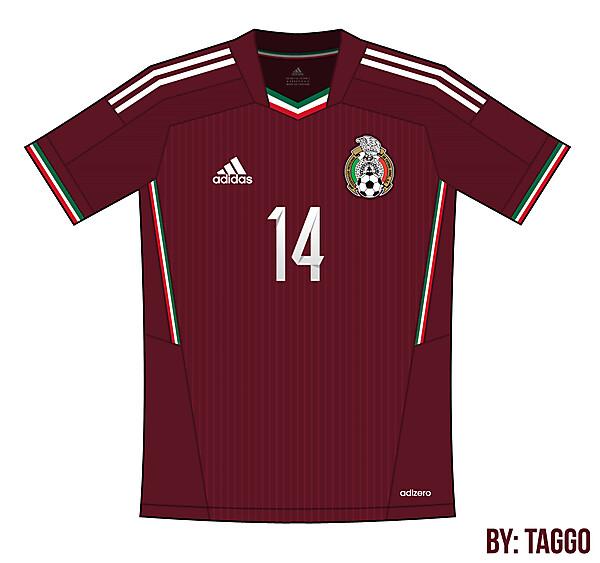 Mexico Adidas away