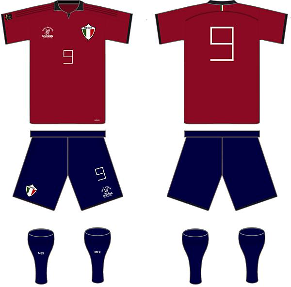 Mexico Home Kit - Copa America Centenario