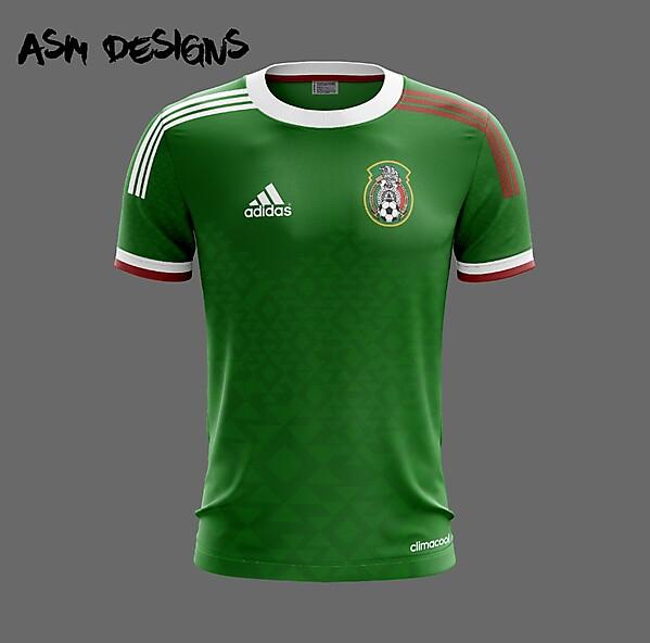 Mexico national football team Adidas 2018 Home Kit