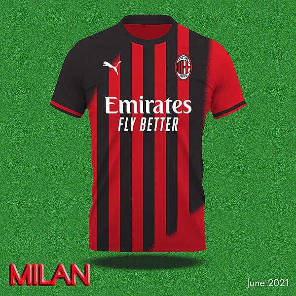 Milan home shirt concept