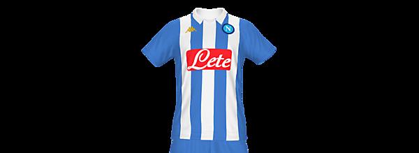 Napoli 2021/2022 Fantasy Home Kit