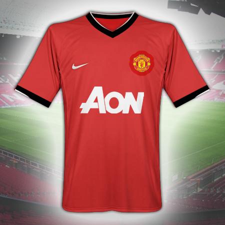 promo code 75432 ce08f Manchester United Kit 2010/2011