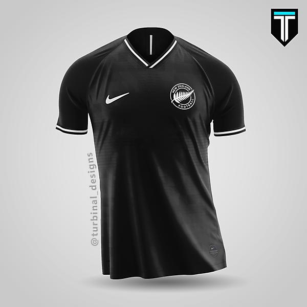 New Zealand x Nike - Away Kit Concept