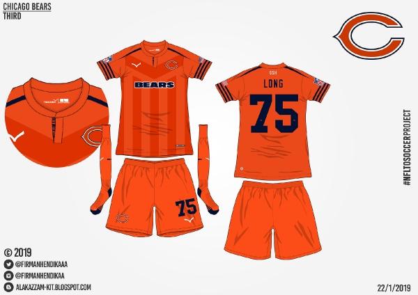 #NFLtoSoccerProject - Chicago Bears (Third)