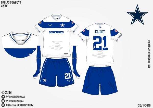 #NFLtoSoccerProject - Dallas Cowboys (Away)