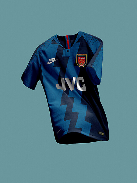 Nike Arsenal FC 90's Striking Vaporknit Concept