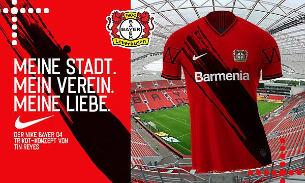 Nike Bayer Leverkusen Concept