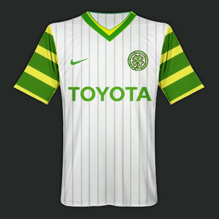 Nike Celtic FC Away
