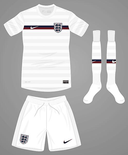 Nike England Replica Kit