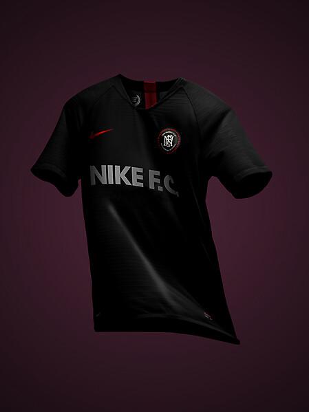 Nike FC 2018 Black Velvet Jersey